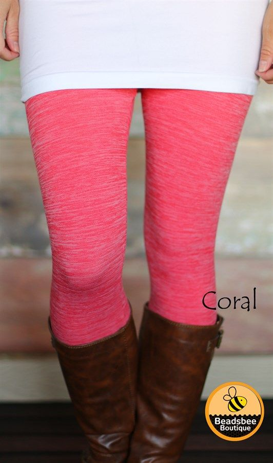 These amazingly soft and stretchy Heathered fleece lined leggings are unlike any…