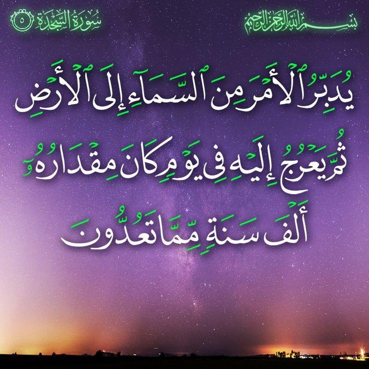 ٥ السجدة Neon Signs Arabic Calligraphy Calligraphy