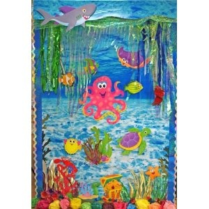 under the sea classroom | Under the Sea Classroom Display Kit - 31 Piece Set: Amazon.co.uk: Toys ...