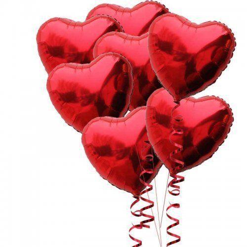 """10 pçs/set em forma de coração balões Foil aniversário festa de casamento decoração decorado 10 """" 18 """" 24 """" 30 """" Love"""