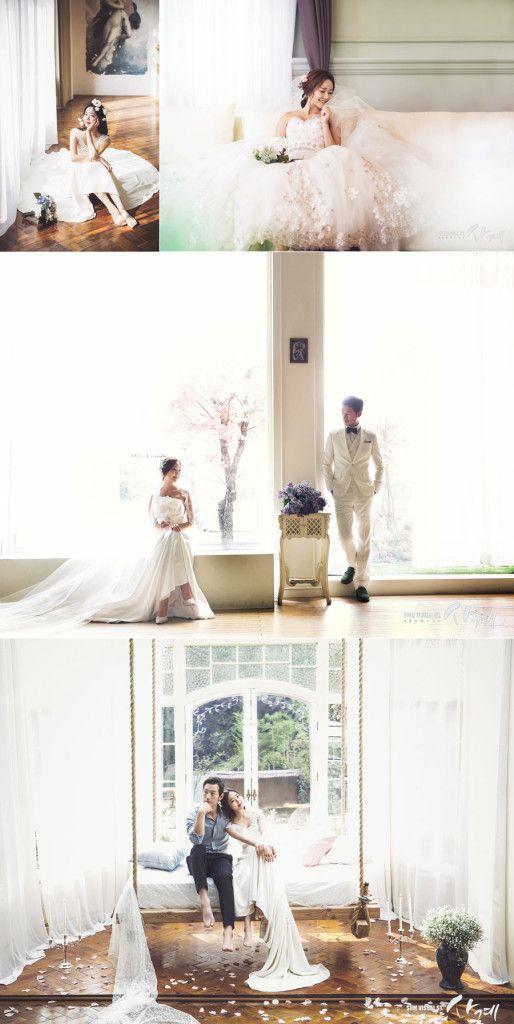 Korean wedding photo concept - SUM Studio - Dreamy