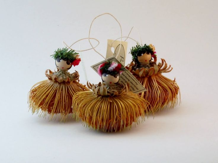 Christmas Decorations From Banksia Cones