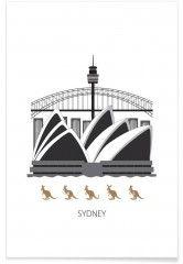 Sydney - Premium Poster