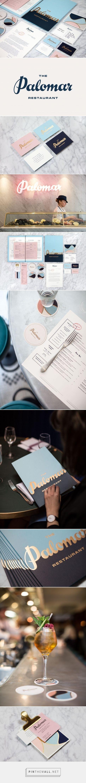 The Palomar Restaurant Branding by Here Design | Fivestar Branding – Design and Branding Agency & Inspiration Gallery