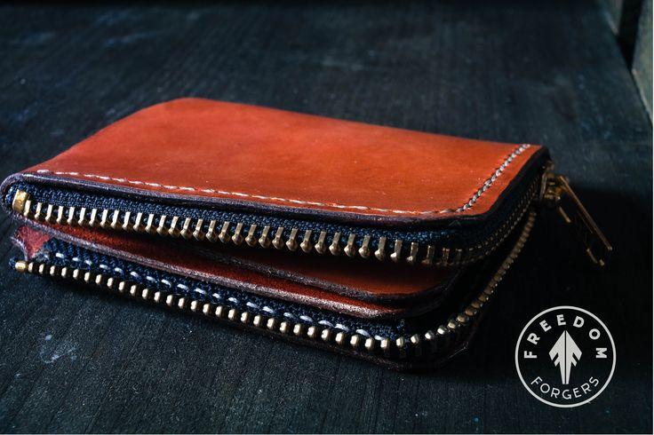 Leather minimalist Wallet