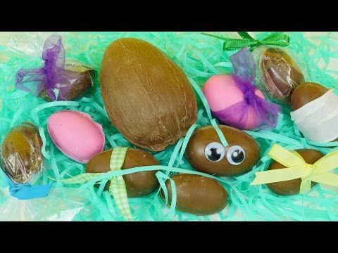 Homemade Kinder Egg Maker | DIY Chocolate Toy Surprise Eggs For Easter DCTC How To Tutorial - YouTube