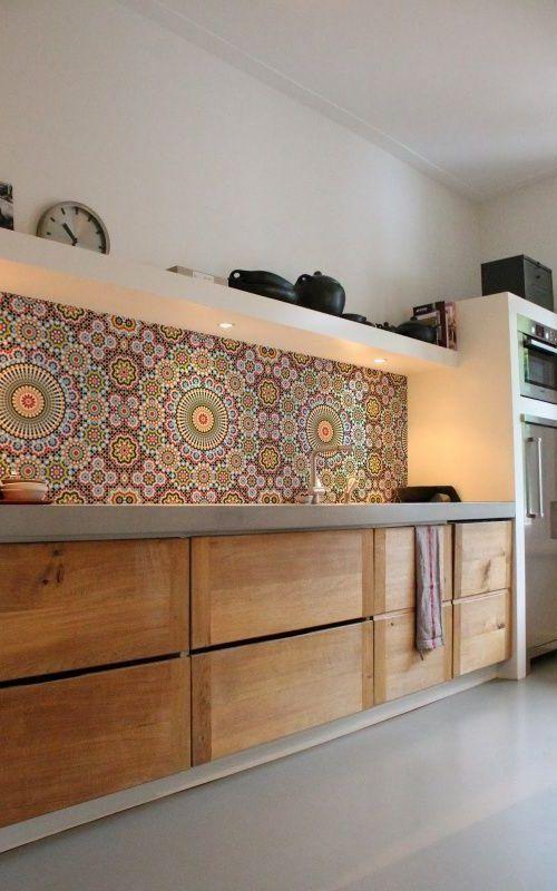 texture - kitchen tiles