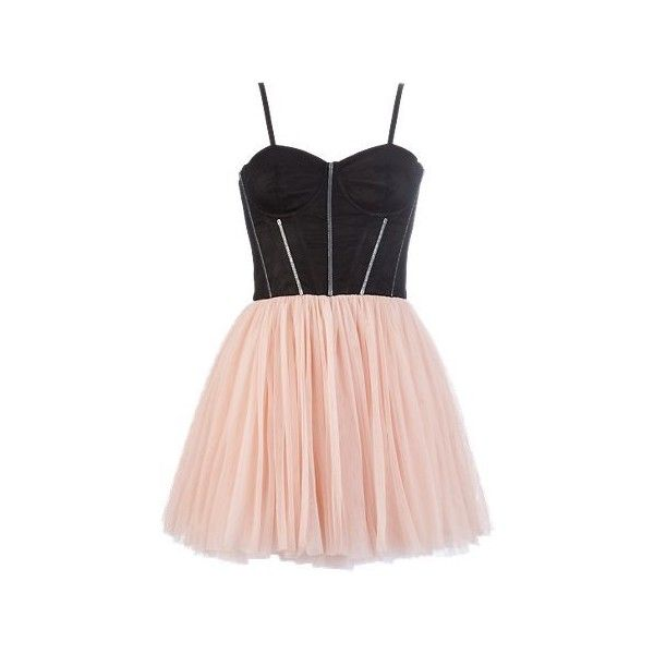 Lipsy Corset Prom Dress (275 BRL) ❤ liked on Polyvore featuring dresses, vestidos, short dresses, pink, going out dresses, corset dress, strap prom dresses, corset prom dresses and pink mini dress