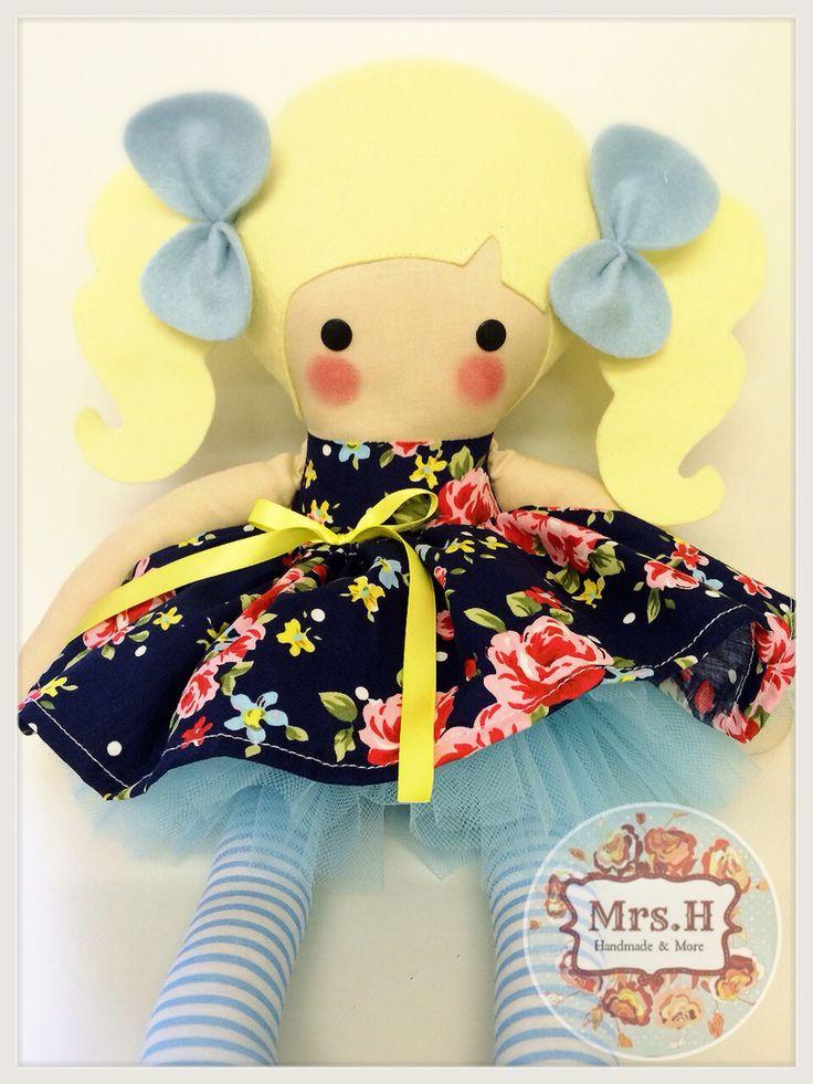 www.mrshhandmadeandmore.bigcartel.com www.facebook.com/mrshmakesdolls Handmade dolls