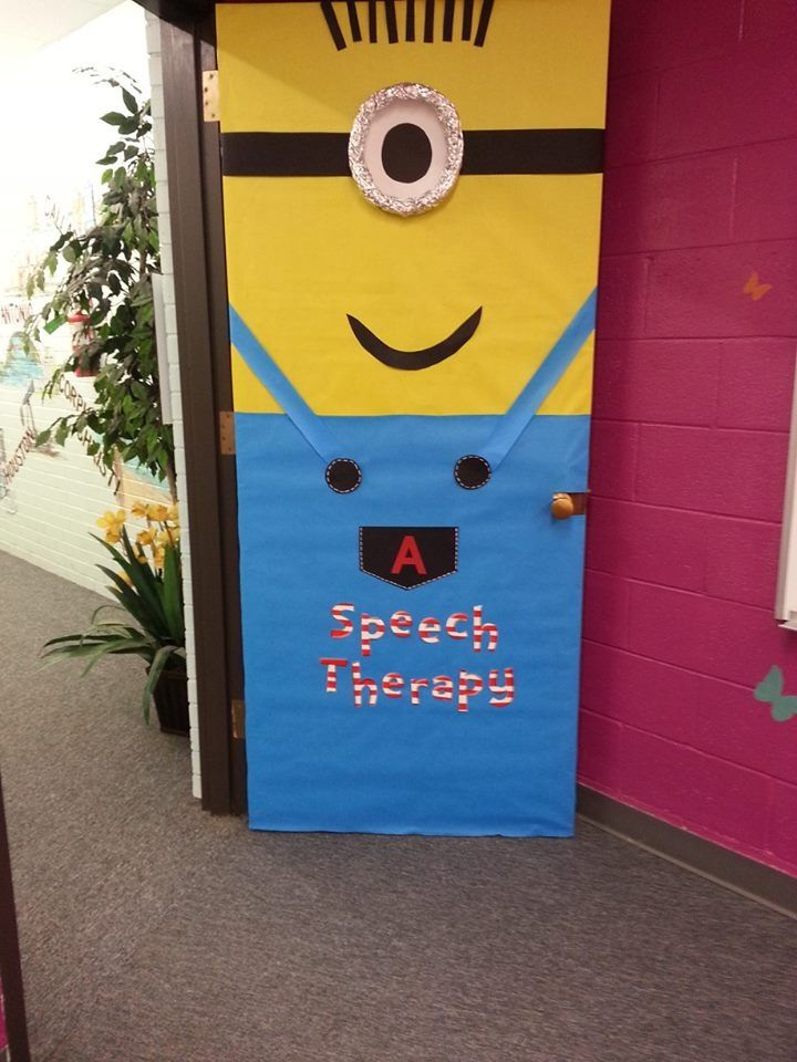 Minion Classroom Door Decor ~ Minion school door stuff pinterest