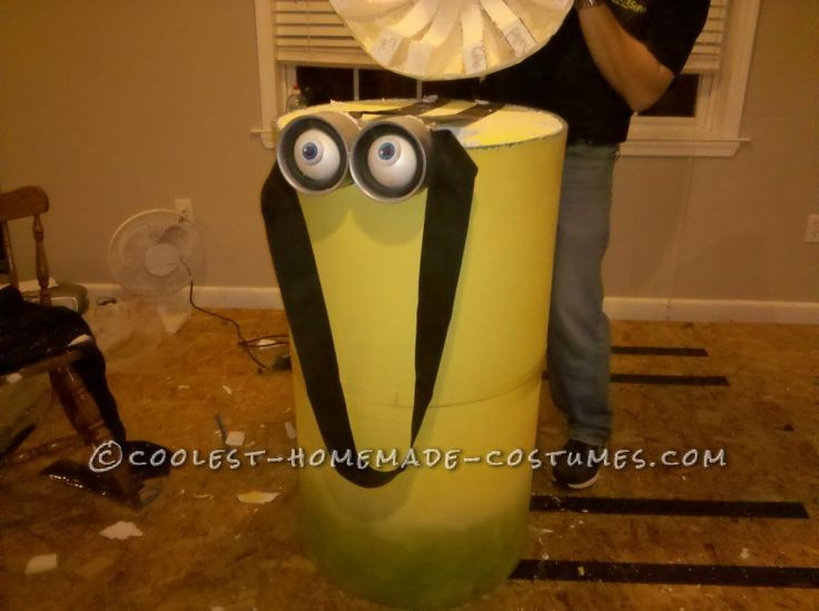 Cool Homemade Minion Costume ... This website is the Pinterest of costumes
