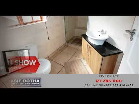 River Gate ON SHOW ON SHOW Sunday in #RiverGate. 3Bdr, 2Bthr, Double Garages. Call my number 0824164439 / hanlie@basiebotha.co.za. #BasieBotha #NelspruitHomes #MbombelaProperty