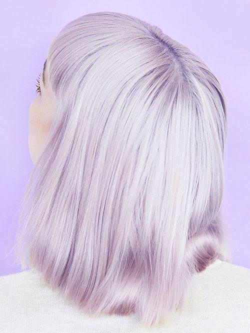 Pale Lilac Hair.