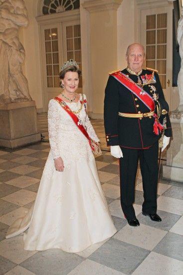 Kongelig feiring av Dronning Margrethes 40 år som dronning. 2012. Foto: Krister Sørbø/Scanpix