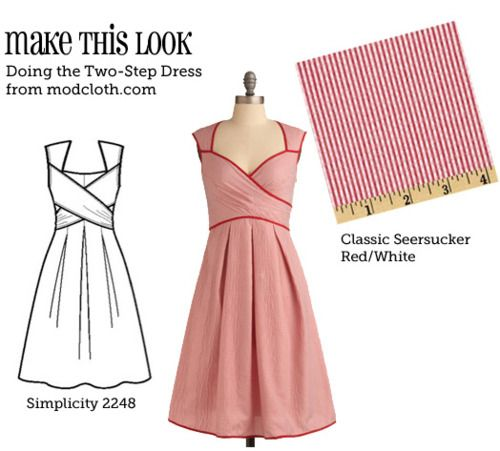 DIY modcloth dress: Retro Dress, Stores Bought Outfit, Matching Sewing, Cute Dresses, Sewing Machine, Fun Website, Dresses Patterns, Sewing Patterns, Modcloth Dresses