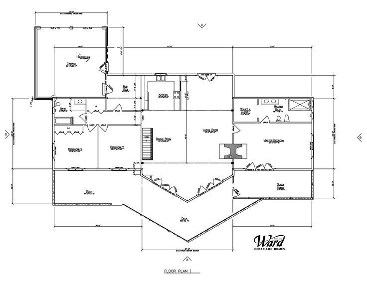 Ward Cedar Log Homes | Log Home Floor Plans - Ward Cedar Log Homes