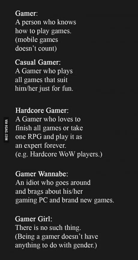 Gamer Quote so true :D