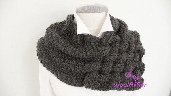 Du suchst noch nach einem wunderbar weichen und warmen Schal für die kalten Tage? Dann ist dieses Strickmuster genau richtig für Dich. Hols Dir jetzt.