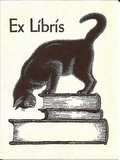 Ex Libris - this was mine earlier in life