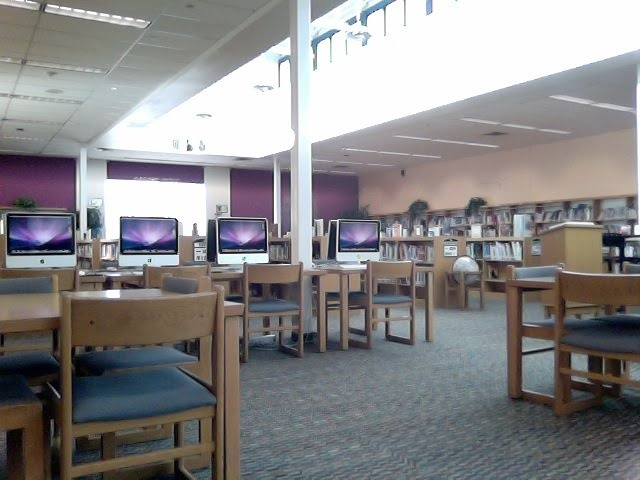 Greenway MIddles School Library