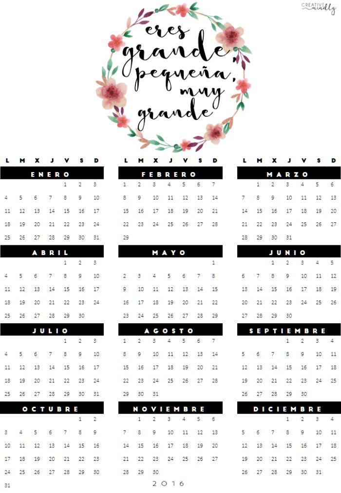 Más de 1000 imágenes sobre Calendario en Pinterest | Calendario ...