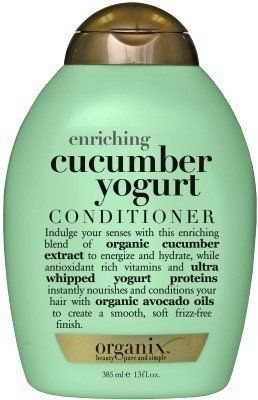 Organix Cucumber Yogurt 13 oz. Shampoo + 13 oz. Conditioner (Enriching) (Combo Deal) by Organix. $19.98. Shampoo and Conditioner combo helps to revitalize and moisturize your hair. A complete system of hair care especially designed to help hair look and feel thicker and healthier. Luxurious Sulfate Free & Paraben Free Formulas, Organic Active Ingredients, Amazing Scents, Safe For Color-Treated Hair, Safe For All Hair Types This Organix Cucumber Yogurt Shampoo was created to en...