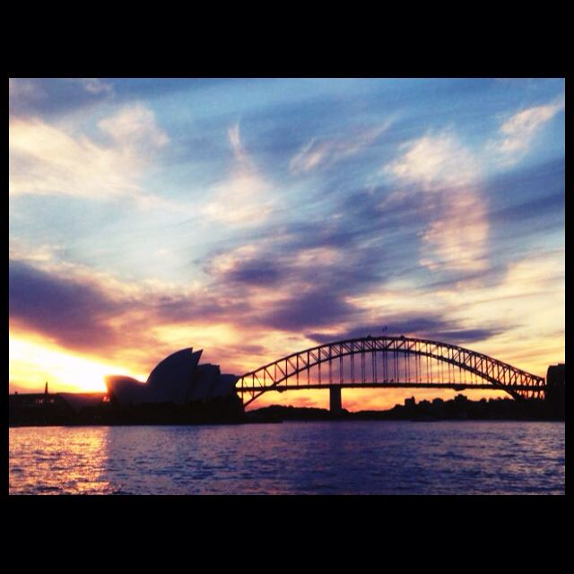 Opera House & Harvour Bridge @Mrs. Macquarie's Chair - Can't wait to enjoy this panorama next week