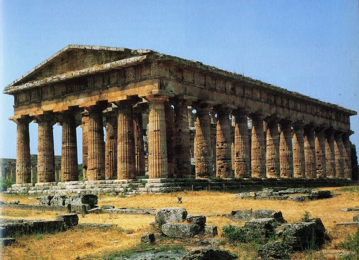 Ancient Greek Architecture Poseidon Temple