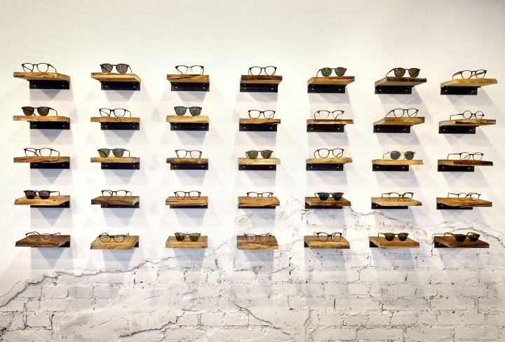 Filia76 eyeware store by Claudia Weber, Kassel Germany eyewear store design