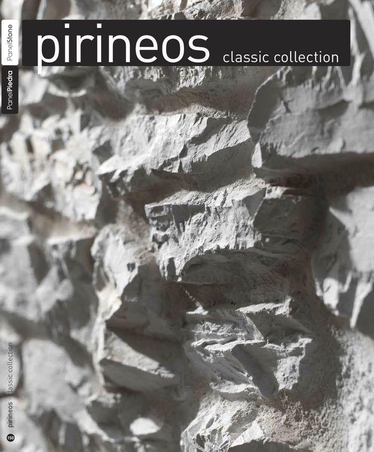 'PIRINEOS' Faux stone wall panels