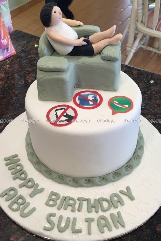 كيك عيد ميلاد بتصميم أريكة Cake Birthday Cake Cake Art