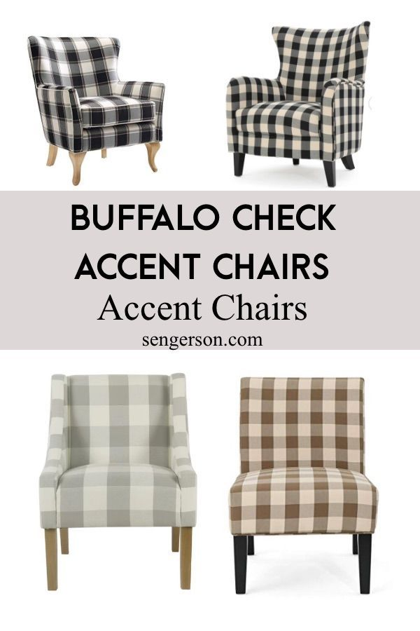 Best Sources For Buffalo Check Accent Chairs Best Picks Under