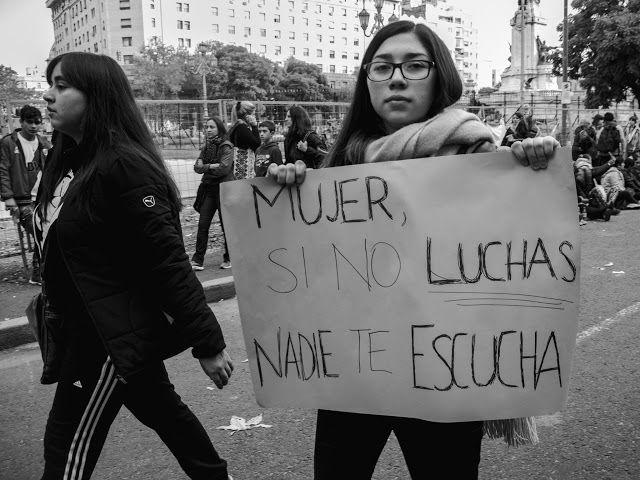 Atrapados por la imagen: En la Marcha Vivas nos Queremos!!!!!!