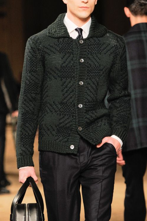 Silk & Lace & Wool, monsieurcouture:   Corneliani F/W 2014 Menswear...