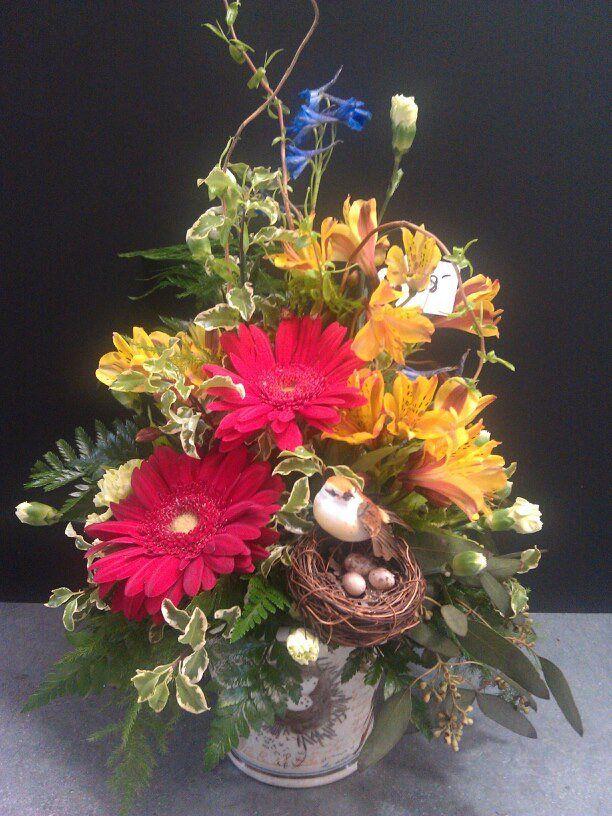 birdhouse floral arrangements | Fleur de Lis Floral & Home | Newport Floral | Other Arrangements