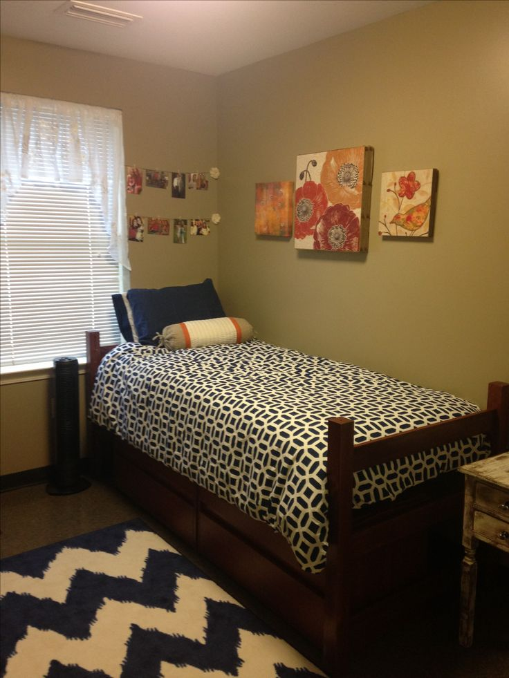 College Dorm Room. #navy #cute Part 91