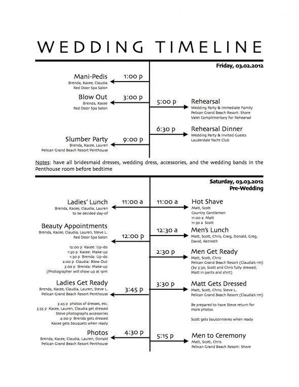 Best 25+ Reception timeline ideas on Pinterest Reception - wedding agenda sample