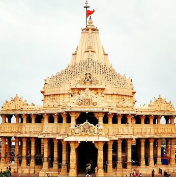 Somnath - is the first among the twelve Jyotirlinga shrines of Shiva.