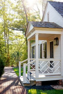 Stunning Front Door Ideas: Add a Portico! 20 Gorgeous Entryways! | The Well Appointed House Blog: Living the Well Appointed Life