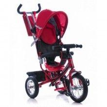 Трехколесный велосипед Azimut trike Air спица 4328 красный