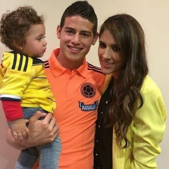 James Rodriguez:  Wife Daughter 4 World Cup Games 5 Goals  2 Assists  He is only 22 years Old!  #worldcupfever #worldcup2014 #worldcupbrazil2014 #worldcup #worldcup14 #worldcupbrazil #fifaworldcup2014 #fifa #fifaworldcup #fifaworldcupbrasil #fifaworldcupbrazil