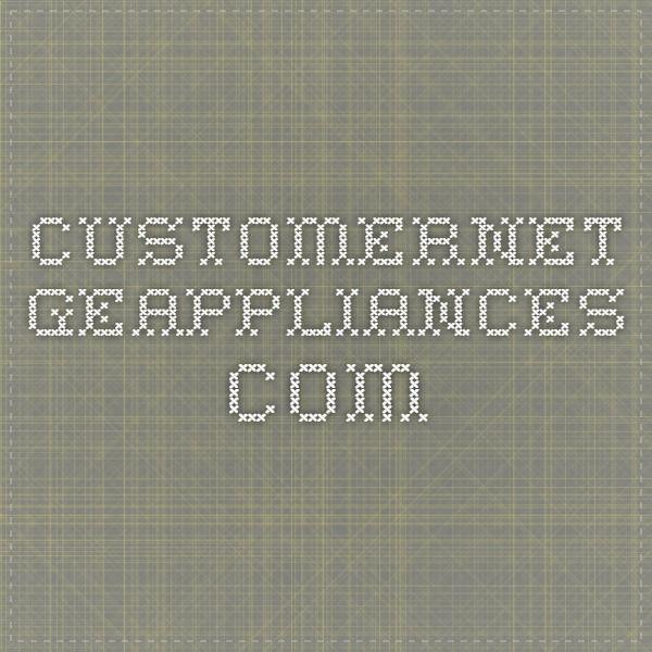 customernet geappliances com