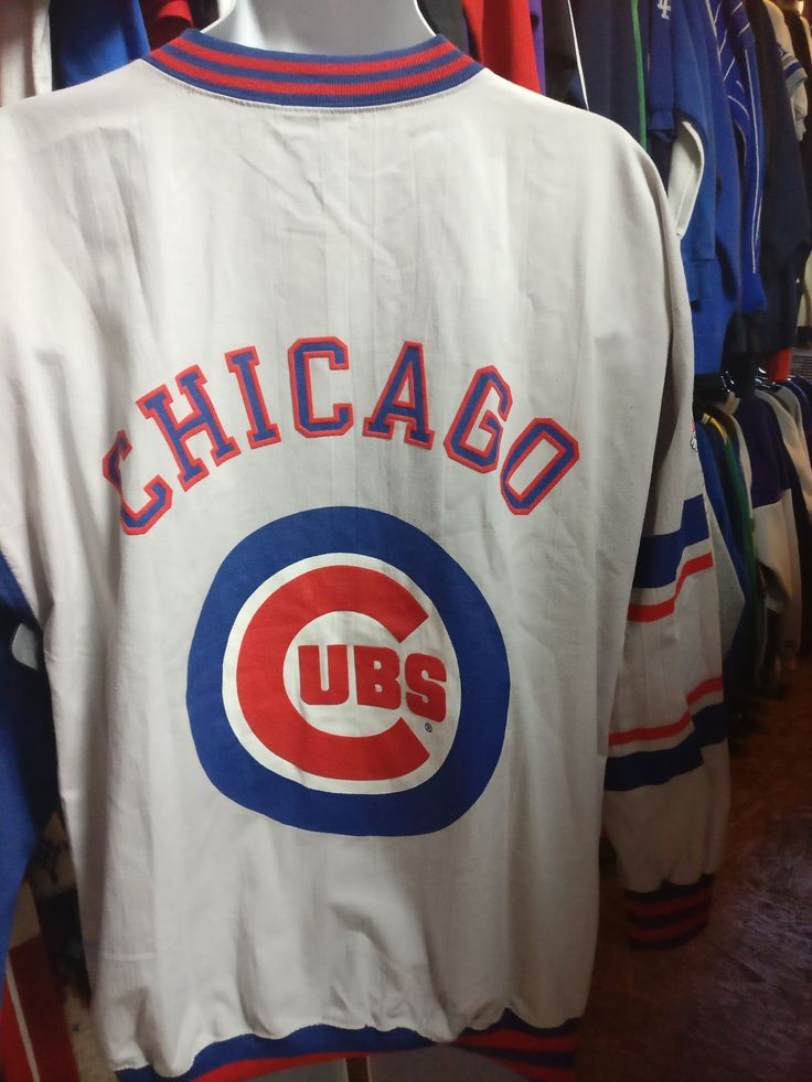 Vintage 90s CHICAGO CUBS MLB Champion Sweatshirt L (Deadstock)
