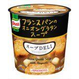 クノール クノールスープDELI フランスパンのオニオングラタンスープ 6個セット    timein.jp