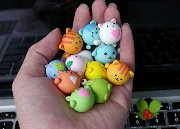 Petits animaux en pâte fimo