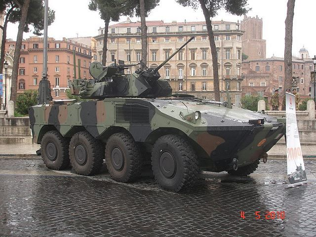 VBM Freccia armoured infantry fighting vehicle of Italian army