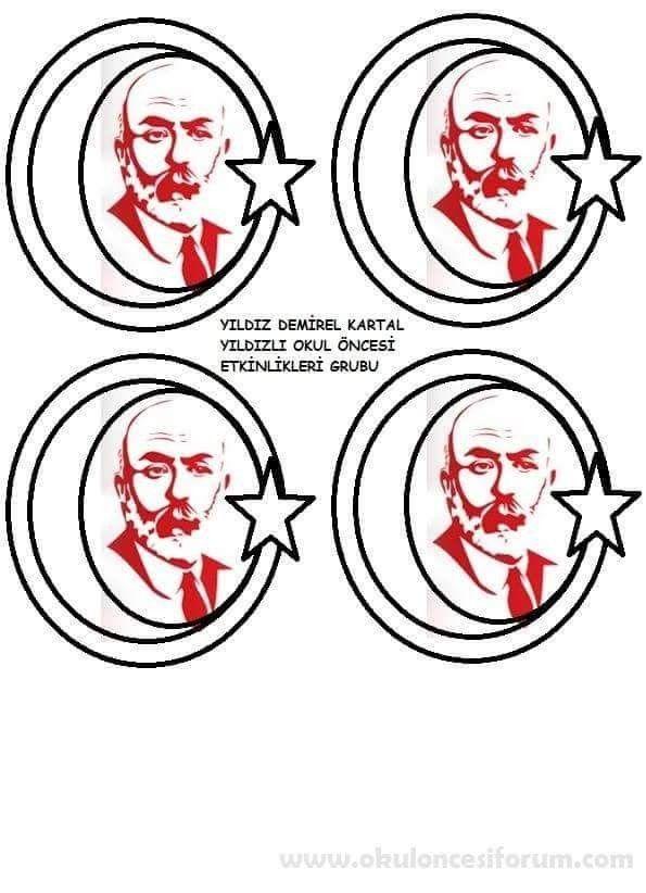Istiklal Marşının Kabulü Etkinlik örnekleri Mehmet Akif Ersoy Ile