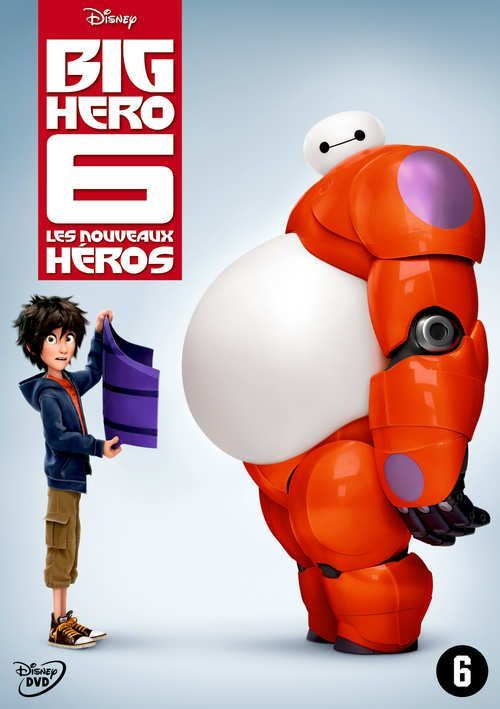 Big Hero 6 (DVD) #disney #disneydvd #disneyclassics #bighero6