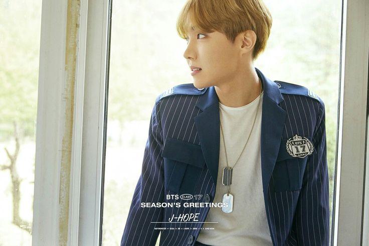J-Hope ❤ BTS 2017 Seasons's Greetings Preview #BTS #방탄소년단