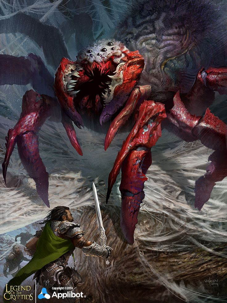 Giant Spider:advanced by velinov.deviantart.com on @deviantART